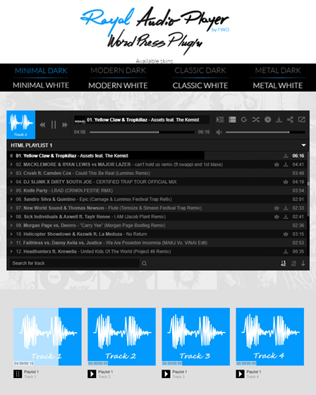MP3 Sticky Audio Player Plugin