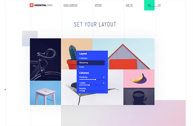 Set Your Layout - Grid Gallery WordPress Plugin