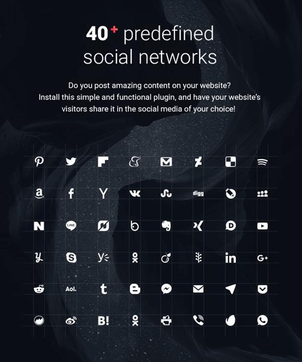 Social share button - Social Share Buttons WordPress Plugin