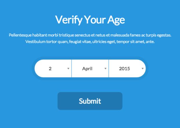 Verify3 - Age Verification Plugin For WordPress