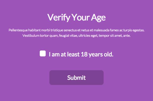 Verify5 - Age Verification Plugin For WordPress