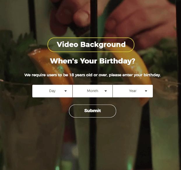 video-background - WordPress Age Verification Plugin