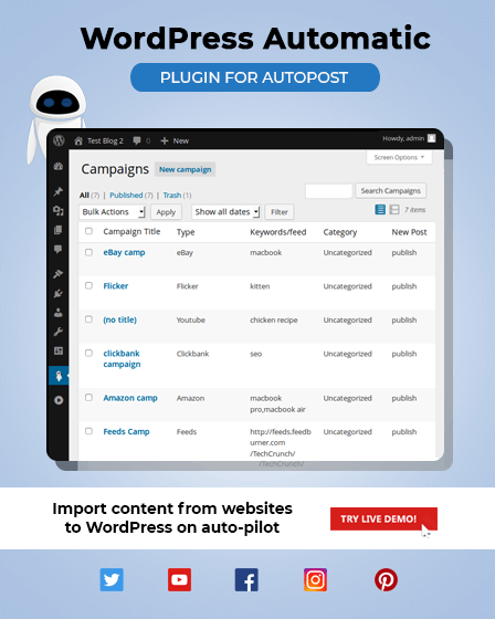 WordPress Auto Post Plugin