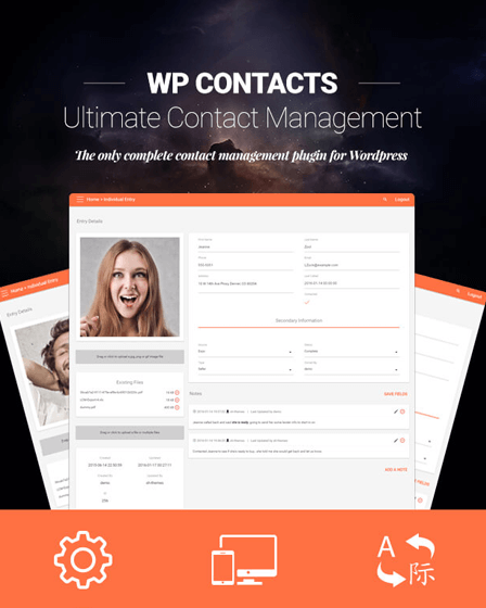 WordPress Contact Management Plugin