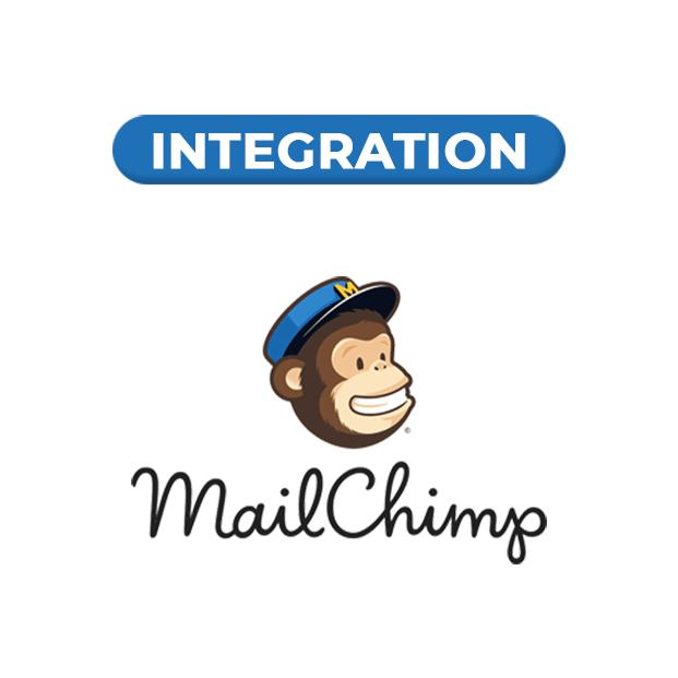 MailChimp Integrated