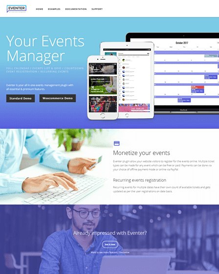 Eventer - WordPress event management plugin