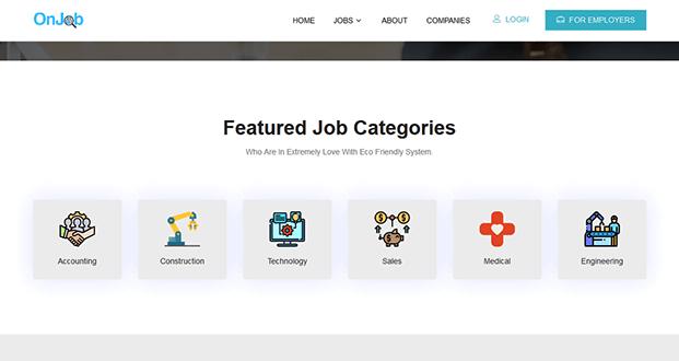 Featured Job Categories