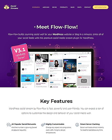 Flow-Flow Social Stream Plugin