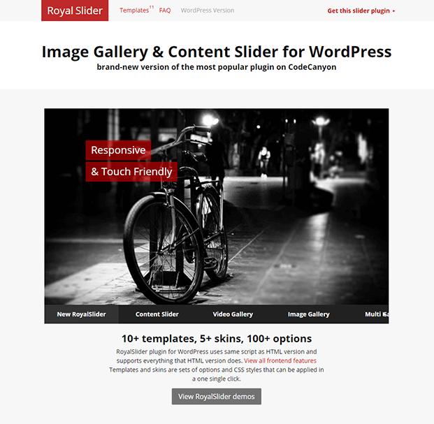 RoyalSlider WordPress Plugin - Home