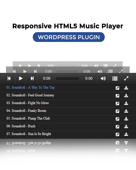 Music Player WordPress Plugin