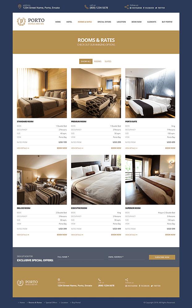 Room & Rates