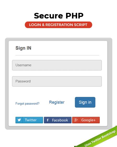 Login Script In PHP