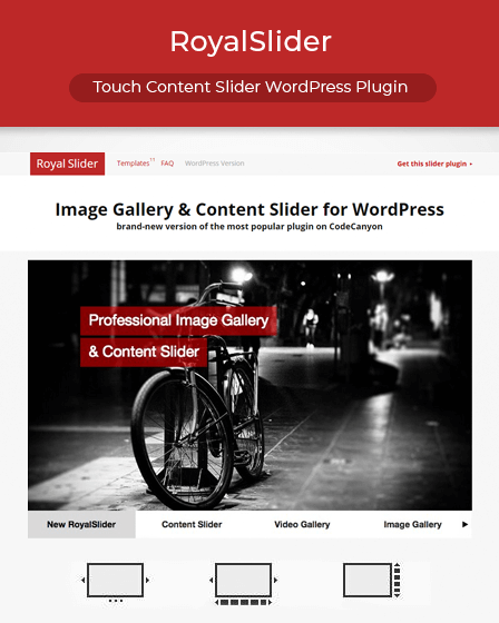 RoyalSlider WordPress Plugin