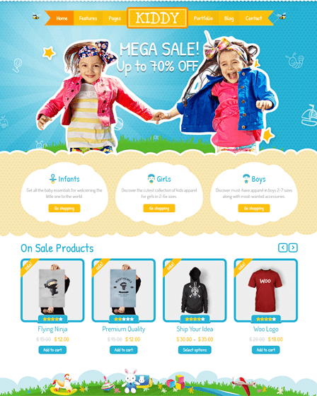 feature image - kiddy - best- wordpress-theme -for- children
