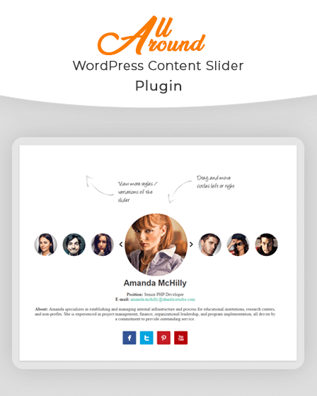 All Around - Content Slider Plugin For WordPress