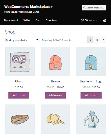 Multi Vendor Marketplace WordPress Plugin