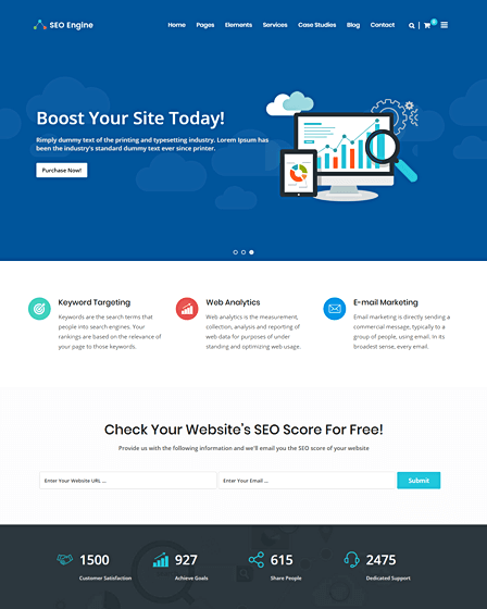 WordPress Digital Marketing Theme