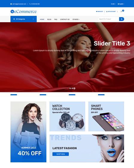 Multi-Vendor ecommerce PHP Script