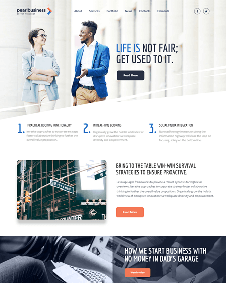 Pearl WordPress Theme