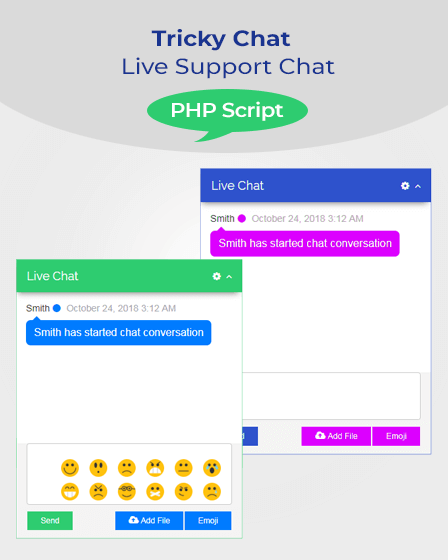 live-support-chat-php-script