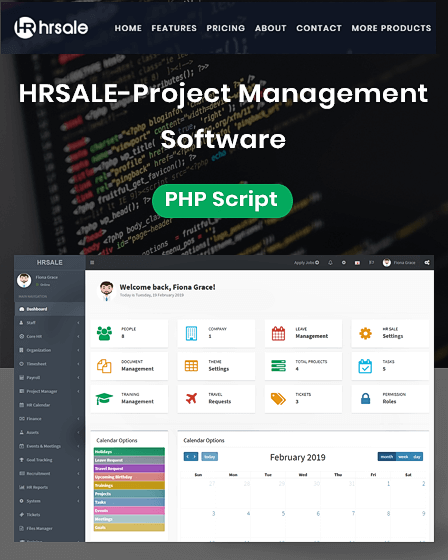 Featured Image Project Management Software PHP Script