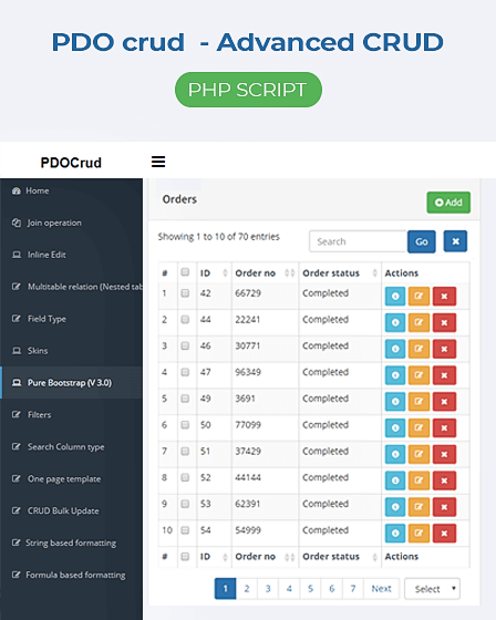 Featured Image - Crud PHP Script
