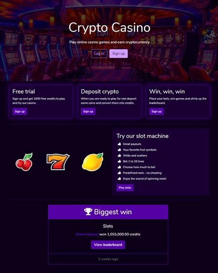 Casino PHP Script