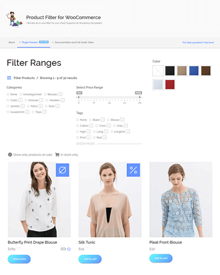 WooCommerce Product Filter WordPress Plugin