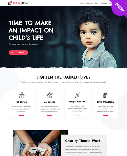 WordPress Non Profit Theme