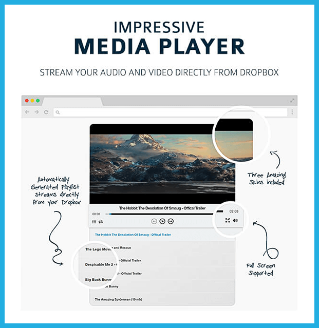 Out-of-the-Box WordPress Plugin - Media Player
