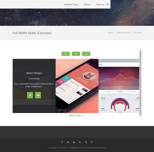 WordPress Plugin For Portfolio - Portfolio Slider Carousel