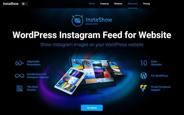Instagram Feed  WordPress Plugin - Home
