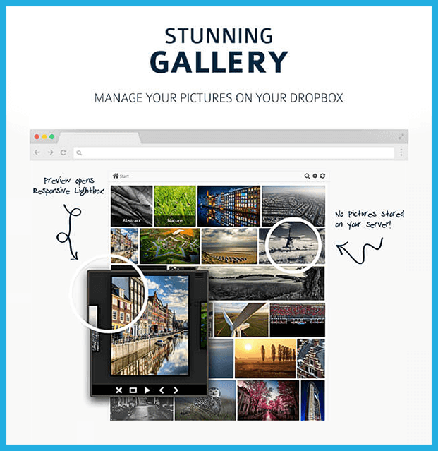 Out-of-the-Box WordPress Plugin - Stunning Gallery