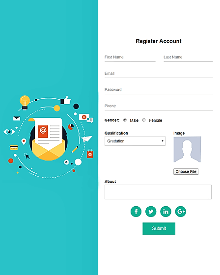 Signup PHP Script