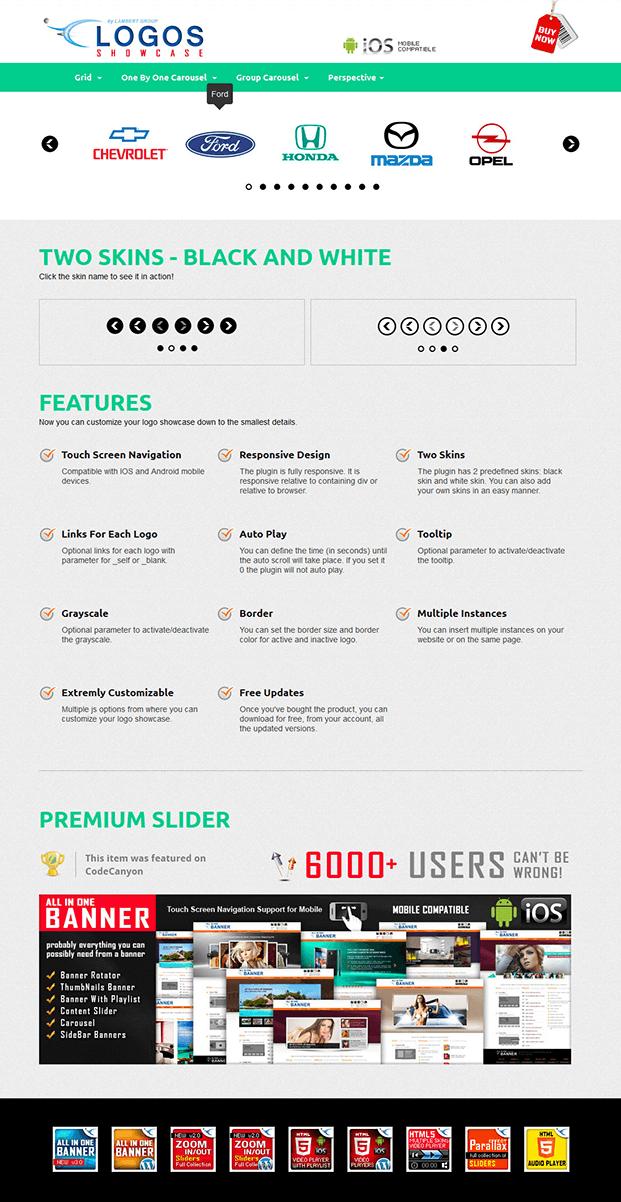Tooltip-Logos Showcase WordPress Plugin