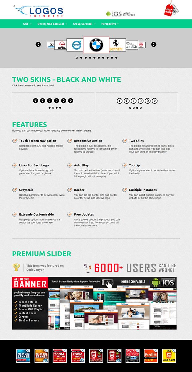 Perspective-Logos Showcase WordPress Plugin