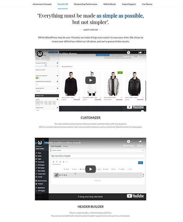 SmoothUX - Premium WordPress Theme For Business