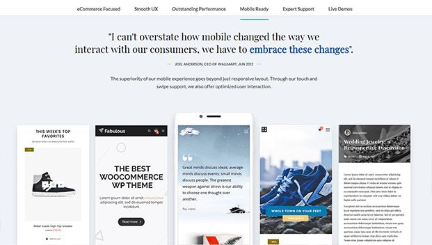 Mobile - Premium WordPress Theme For Business