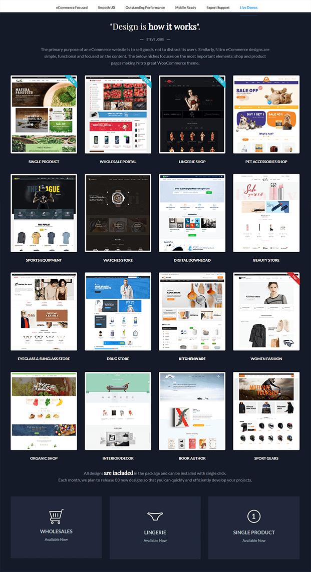Demos - Premium WordPress Theme For Business