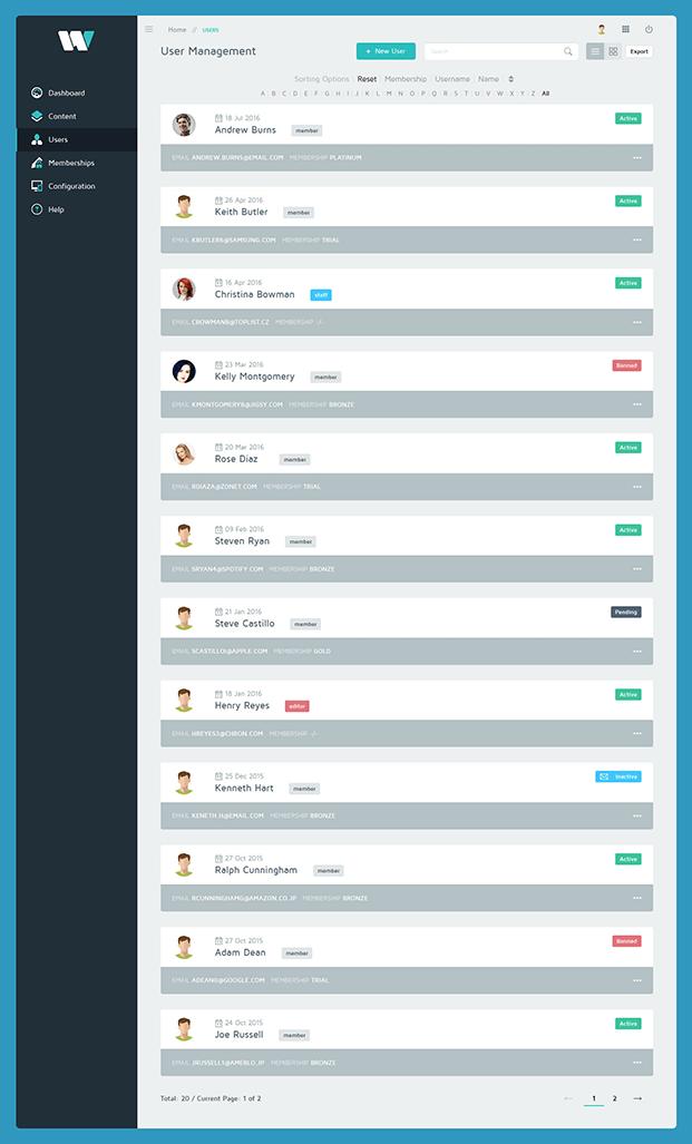 Admin & Users