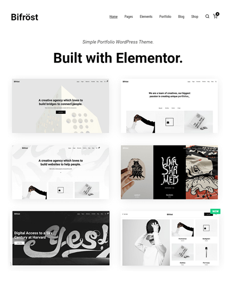 WordPress Theme For Portfolio