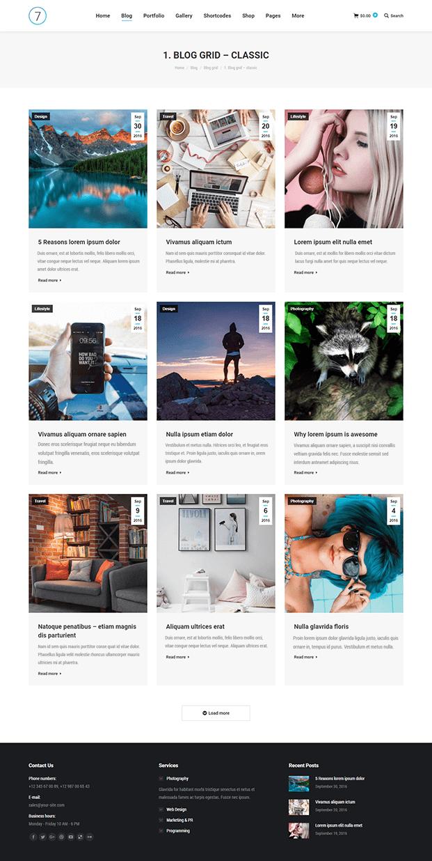 Blog - Best WordPress Template