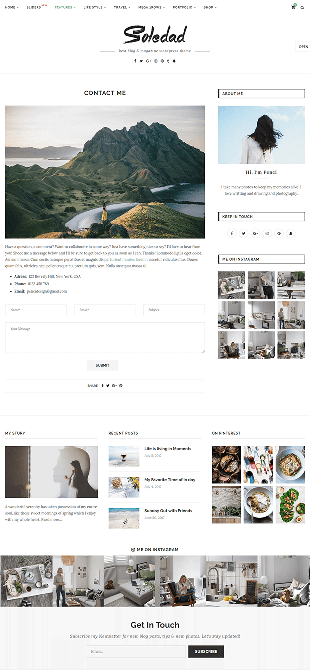 Contact - WordPress Theme Magazine