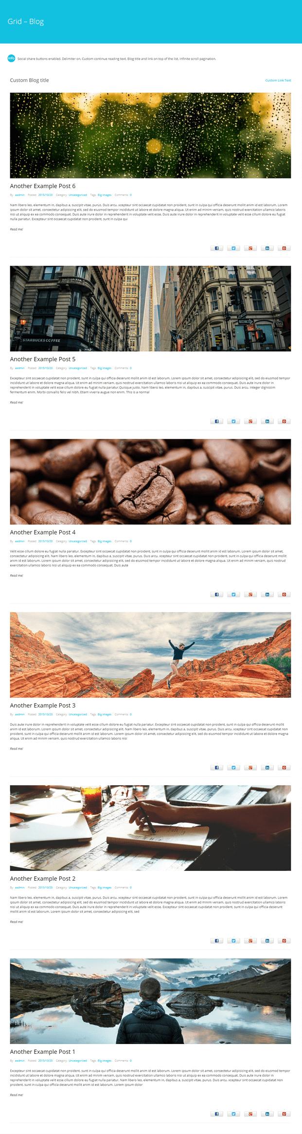 Grid-WordPress Blog Design Plugin