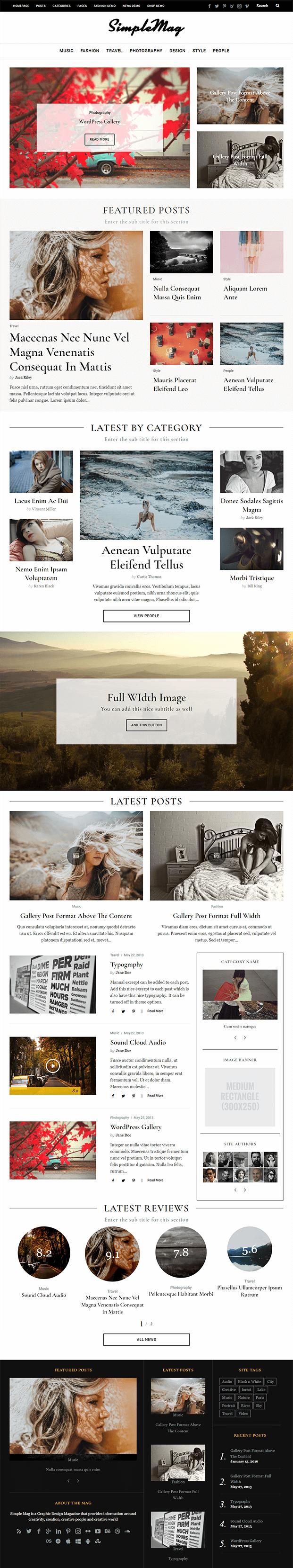 Home - WordPress Online Magazine Theme