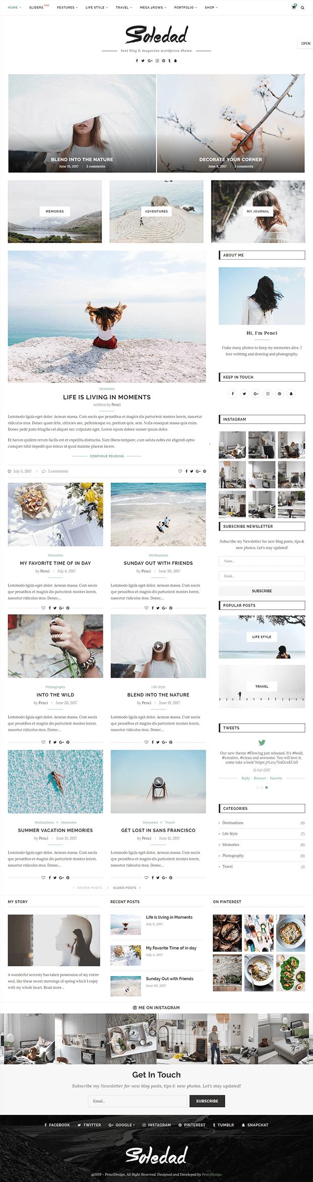 Home - WordPress Theme Magazine