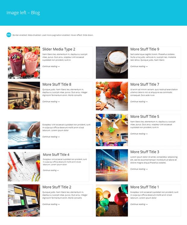 Image-WordPress Blog Design Plugin