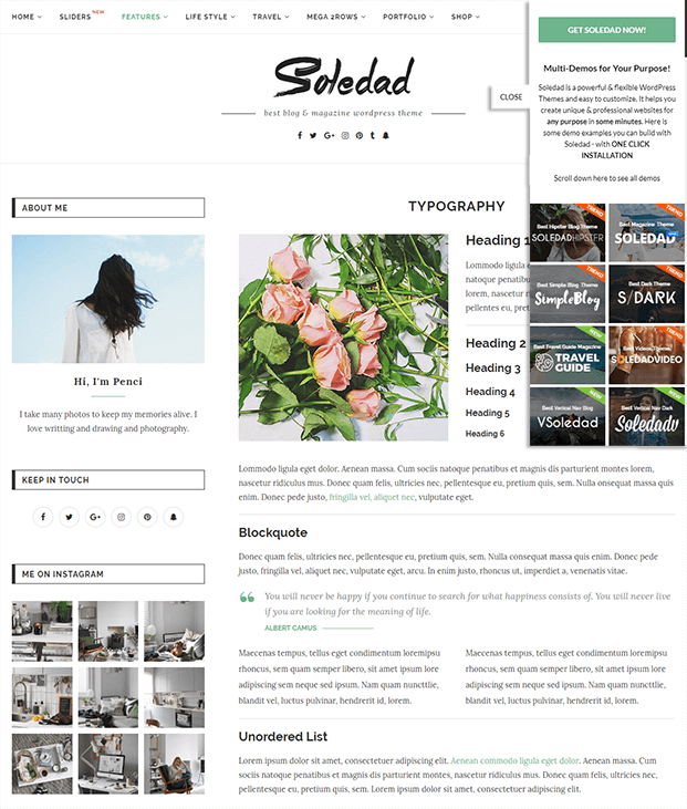 Slider - WordPress Theme Magazine