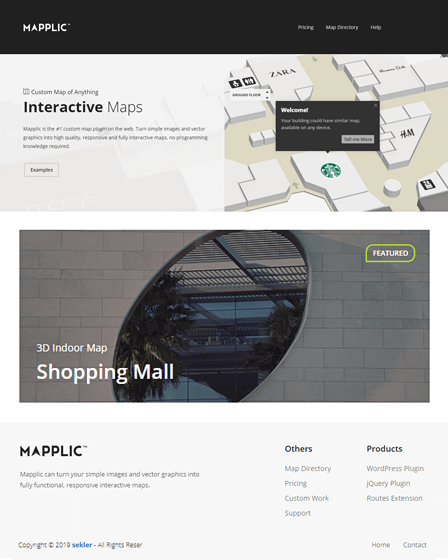 Mapplic WordPress Interactive Map Plugin