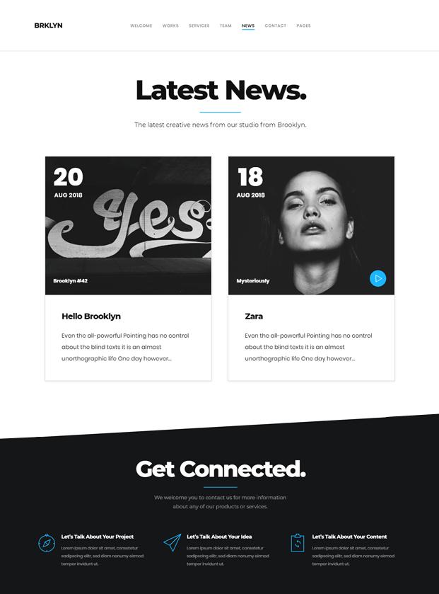 News - WordPress Professional Theme